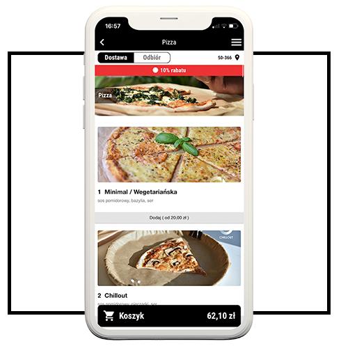 Aplikacja do zamawiania w Pizzerii Muzycznej
